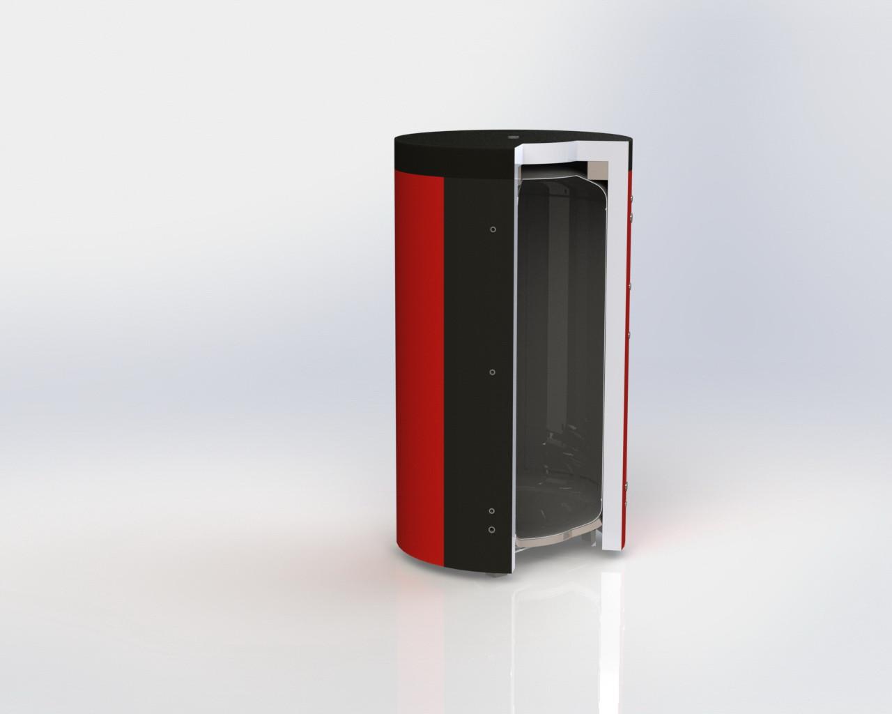 Теплоаккумулятор ЕА-00-1000 Kuydych с изоляцией