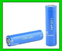 Аккумулятор 18650 1200 mAh 3.7V Li-ion
