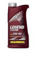 Моторное масло Mannol Legend+Ester 0W40 1L