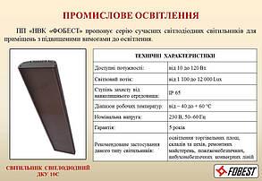 Светильник светодиодный ДПП1-50-001, 50Вт