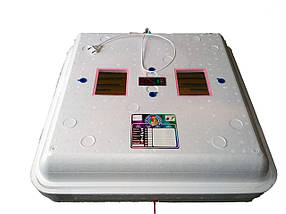 """Инкубатор ручной цифровой """"Рябушка"""" Smart Turbo 70 яиц с вентилятором"""