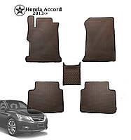 Коврики полимерные в салон Honda Accord 2013- (4 шт) материал EVА
