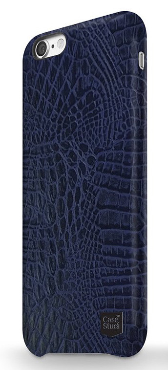 CaseStudi Ultra slim case for iPhone 7/8 Croco Navy