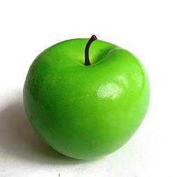 Искусственные яблоко зеленое  муляж 1:1