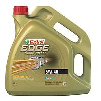 Масло моторное Castrol EDGE Turbo Diesel 5W40 4л