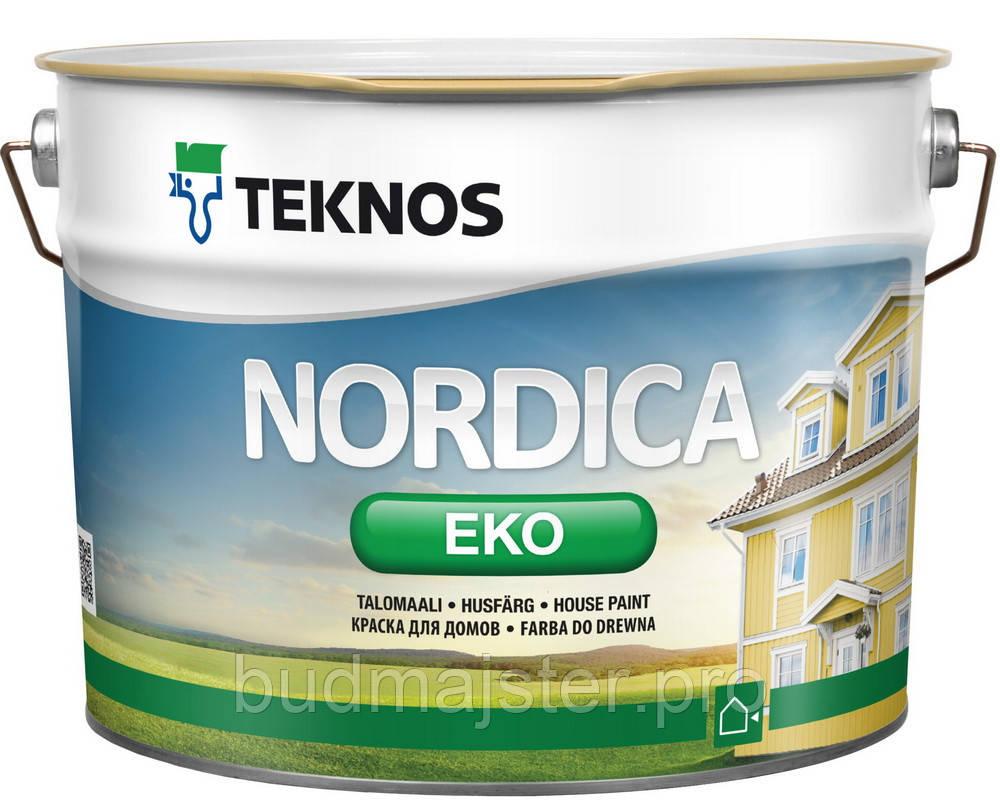 Фарба Teknos Нордіка Еко Б1, 9 л