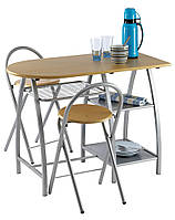 Комплект кухонный компактный (стол + 2 стула), фото 1