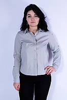 Рубашка женская cерая 3113