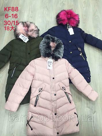 Куртки зимние для девочек S&D,в наличии 10 лет, фото 2