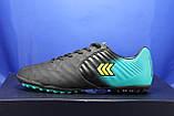 Мужские сороконожки качественные, обувь для футбола Restime, фото 4