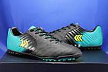 Мужские сороконожки качественные, обувь для футбола Restime, фото 5