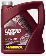 Моторное масло Mannol Legend+Ester 0W40 4L
