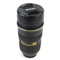 Чашка термос объектив Nikon 24-70mm Zoom Nikkor