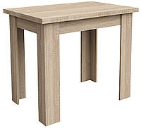 Обеденный стол раскладной Стол обеденный 90/120см дуб, фото 1