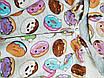 Утепленный комбинезон с Футера для новорожденного Пончики, фото 3