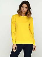 Свитшот женский модный желтый