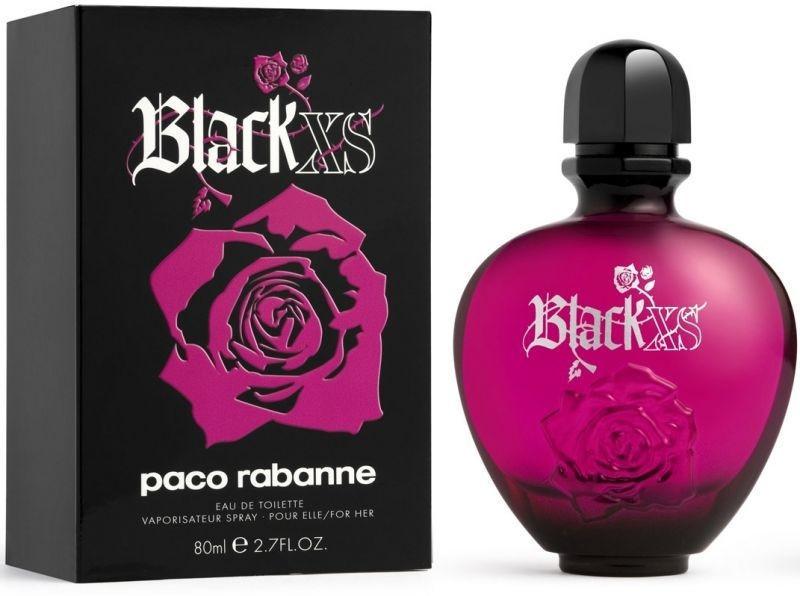 Женская туалетная вода Paco Rabanne Black XS Pour Femme