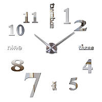 """Часы настенные 3D наклейки """"DIY"""" от 60 до 90 см (ZH520-S)"""