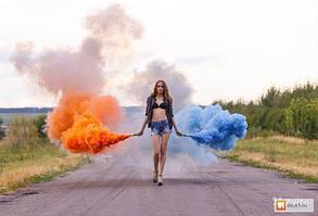 Кольоровий дим (Набір 6 кольорів) Час 60 сек, фото 2