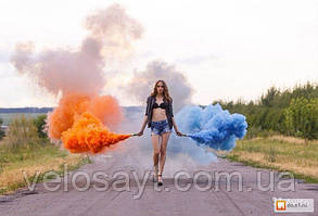 Цветной дым (Набор 6 цветов) Время 60 сек, фото 2