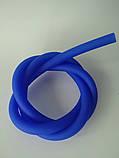 Силиконовые  шланги   для Кальяна  с покрытием Soft touch   мундштук коннектор Long разборные синий, фото 6
