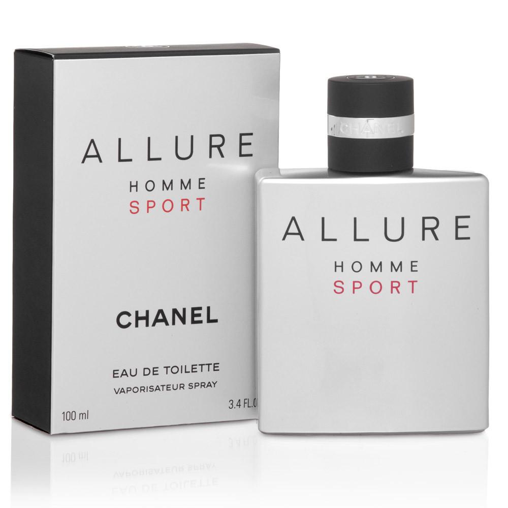 Мужская туалетная вода Chanel Allure Homme Sport 100 ml + 5 мл в подарок, фото 1