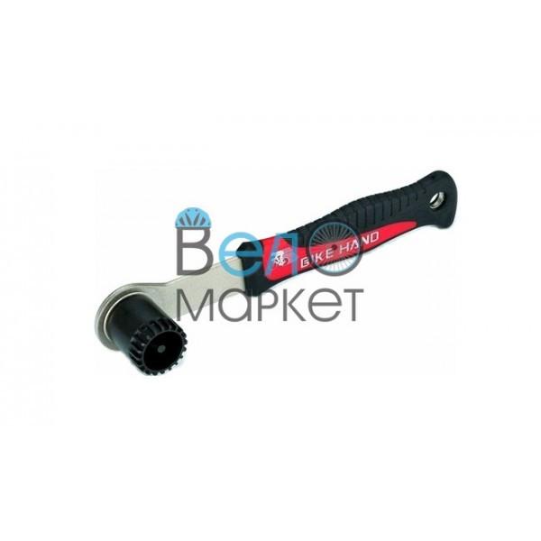 Ключ для чашек каретки Bike Hand YC-26BB-2A для установки и снятия картриджей каретки Shimano и ISIS
