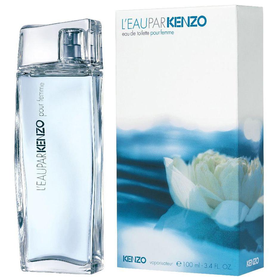 Женская туалетная вода Kenzo Leau par Kenzo pour femme + 5 мл в подарок