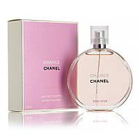 Женская туалетная вода Chanel Chance Eau Vive + 5 мл в подарок