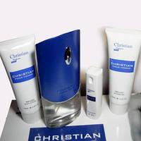 Подарочный набор Christian POUR HOMME (парфюм 100ml + 10ml + гель для душа + гель для тела), фото 1