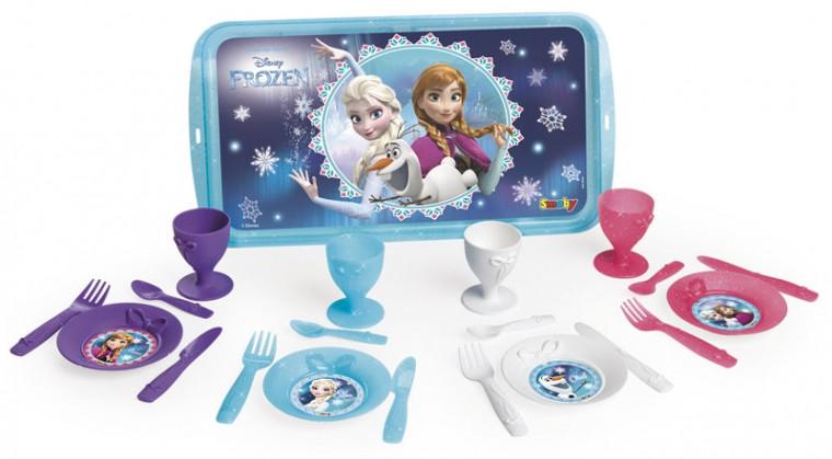 Набор посуды Smoby Toys Фроузен с подносом  (310567)