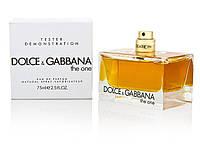 Женская парфюмированная вода Dolce & Gabbana The One 75 ml tester
