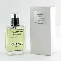 Мужская туалетная вода Chanel Egoiste Platinum tester