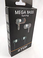 Наушники TDK Mega Bass Tuning,Black