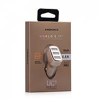 АЗУ икабель Type C «Momax Elite (UC4TCD)» - 1 USB - 5.4 A - Gold