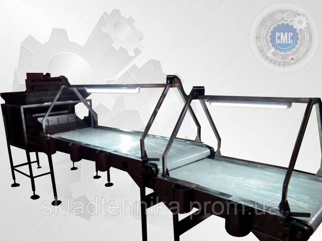 инспекционные и сортировочные конвейеры