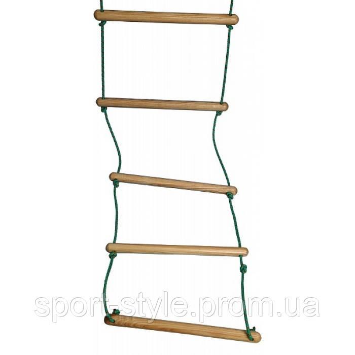 Веревочная лестница для шведской стенки