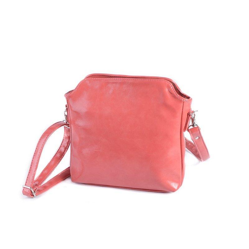 87cc08f9c902 Маленькая коралловая сумка М121-20 кроссбоди через плечо - Интернет магазин  сумок SUMKOFF - женские