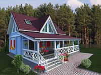 "Дачный домик ""Богуслав"" 6х10м. Как образец."