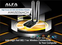 Alfa Network AWUS036ACH 802.11ac dual band usb 3.0, фото 3
