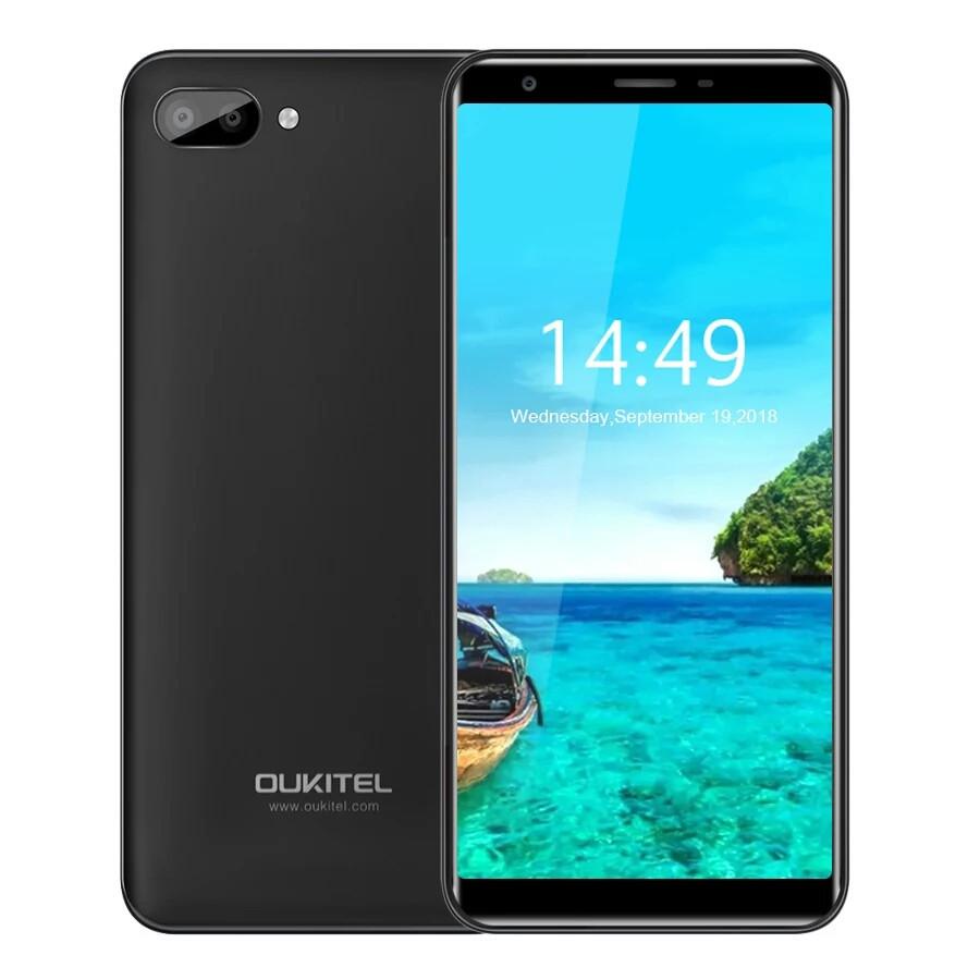 Смартфон Oukitel C11 Black 1/8Гб 3400мАч в наличии + чехол