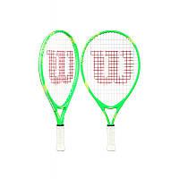 Ракетка для большого тенниса Wilson US Open 19 green allum no cover (WRT22072/WRT22180)