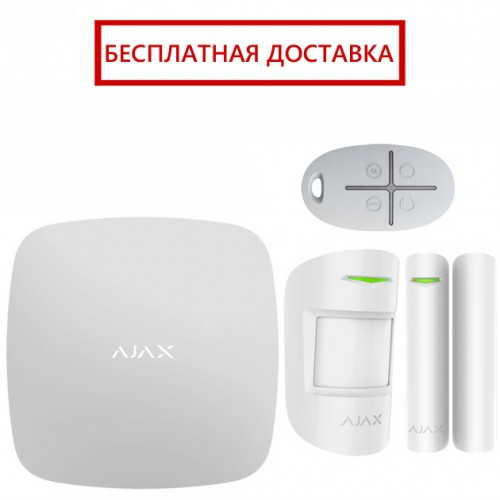 Комплект беспроводной сигнализации Ajax StarterKit white, фото 1