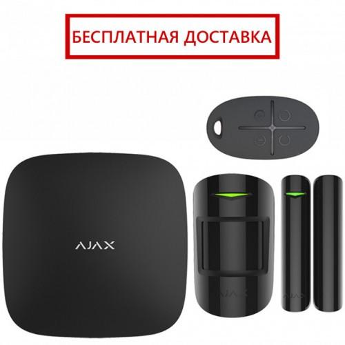 Комплект беспроводной сигнализации Ajax StarterKit black, фото 1