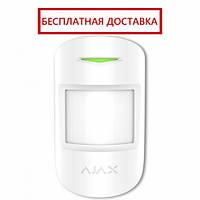 Датчик движения с микроволновым сенсором и иммунитетом к животным MotionProtect Plus white