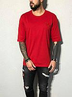 Мужская футболка красная ADA1906