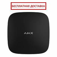 Интеллектуальный центр системы безопасности Ajax Hub black