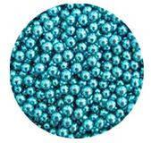 Сахарные жемчужины голубые (5 мм)