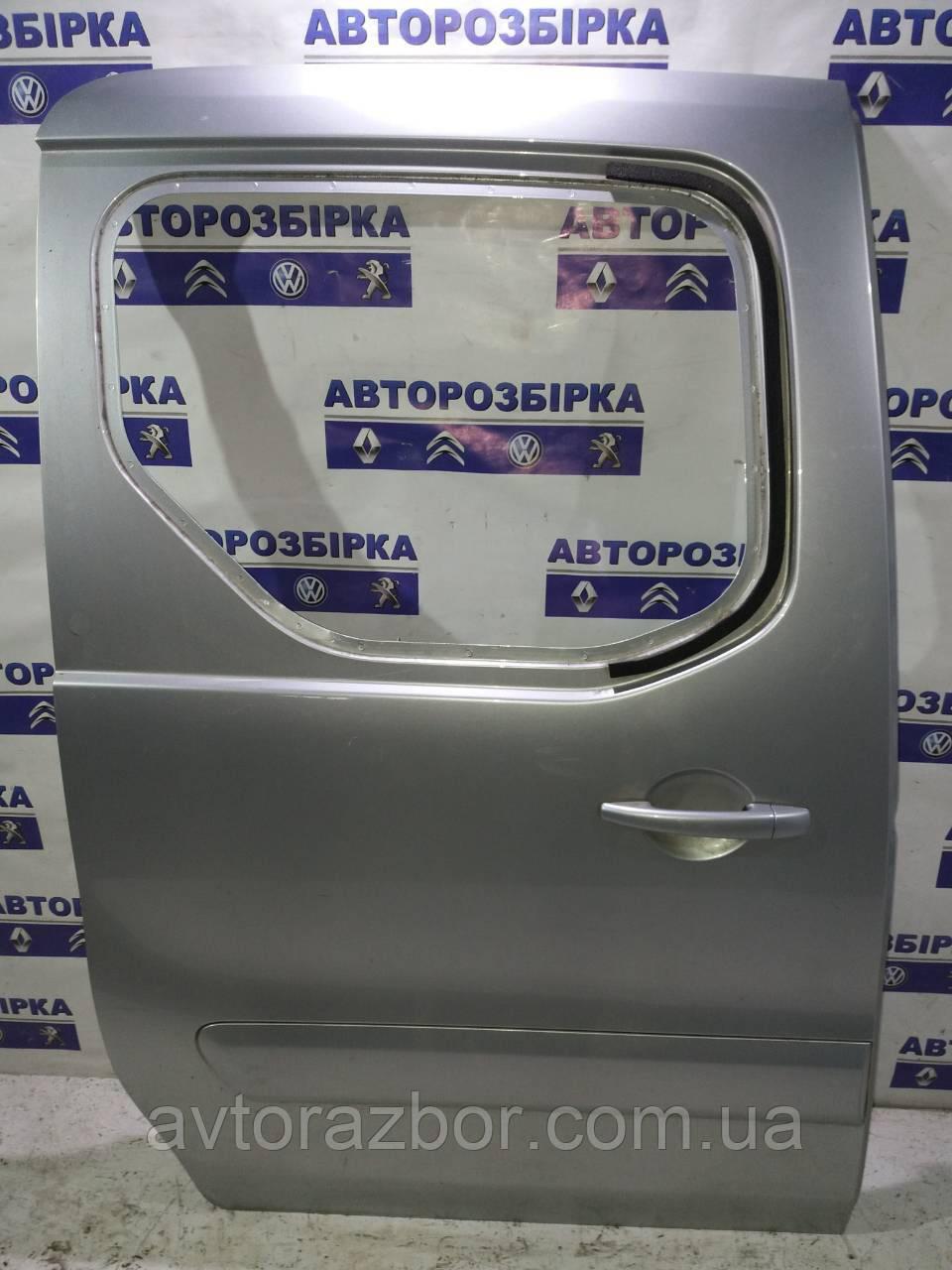 Двері бічна зсувні ліва права під скло Peugeot Partner 2008-2012 Пежо Партнер