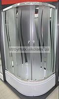 Душевая кабина SANTEH 1115R(115*85*195) левая поддон 36 см хром/ROLA